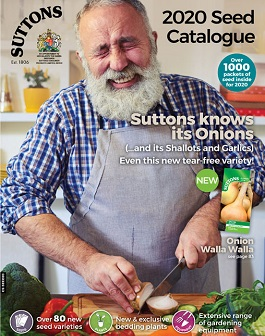 Suttons 2020 Seeds Catalogue Cover