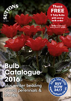 Suttons Bulb Catalogue 2016