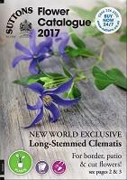 suttons flower catalogue 2017