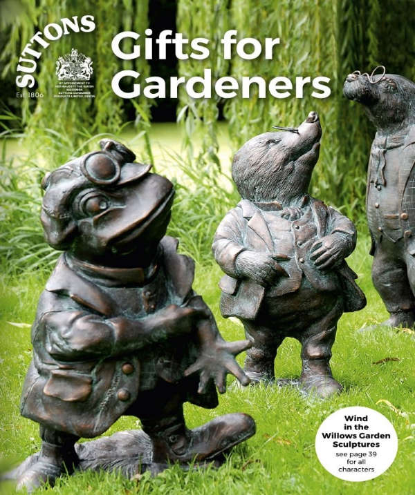 Suttons Gifts for Gardeners Catalogue Cover