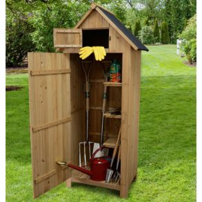 Wooden Garden Tool Shed - Save £10
