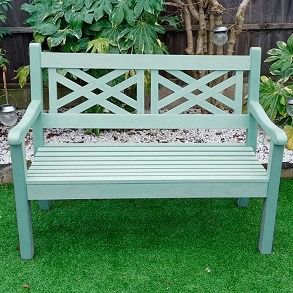 Salcombe 3 Seater Bench