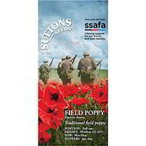 Poppy Seeds - Field Poppy (rhoeas) (SSAFA Charity)