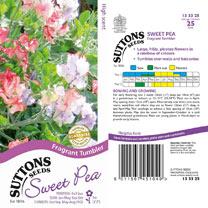 Sweet Pea Seeds - Fragrant Tumbler