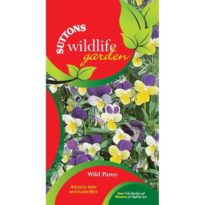 Wild Pansy Seeds at Suttons Seeds