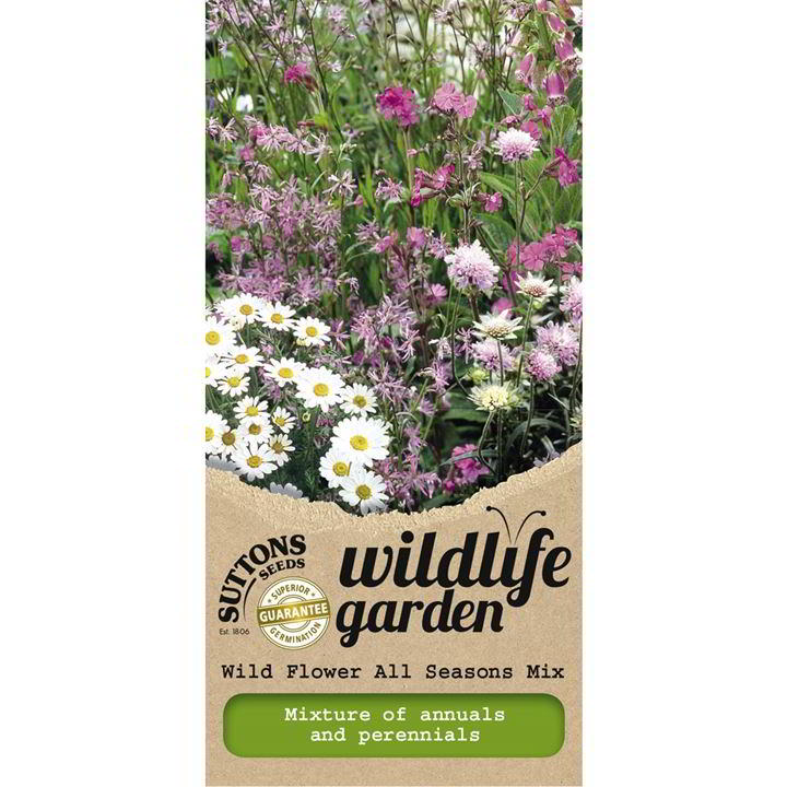 Wild Flower Seeds - All Seasons Mix