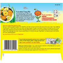 Calendula Seeds - Bug Magnet (Daisy Mix)