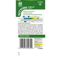 Cabbage Seeds - F1 Mozart