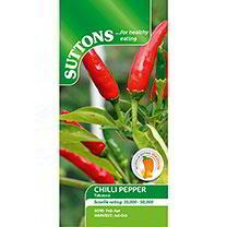 Pepper Chilli Seeds - Tabasco