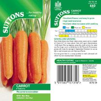 Carrot Seeds - F1 Eskimo