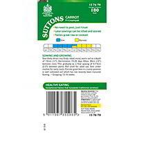 Carrot Seeds - F1 Creampak