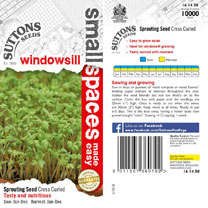 Cress Seeds - Curled