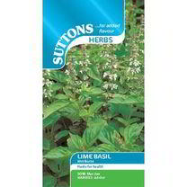 Herb Seeds - Basil Lime Mrs Burns