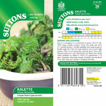 Brussels Sprouts Seeds - Kalette Flower Sprout Mix
