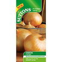 Onion Seeds - F1 Bridger