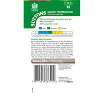 Squash Seeds - Tromboncino
