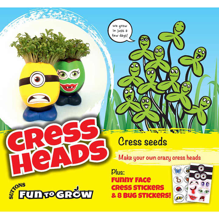 Cress Seeds - Cress Heads (Curled)