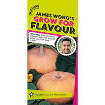 Part of the James Wong Grow For Flavour Range. James says Bred specifically to simmer down into a spiced amber jam much loved in Italy. It is rather l