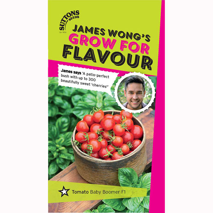 Tomato Seeds - F1 Baby Boomer - James Wong Grow For ...