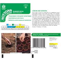 Bean (Runner/Butter) Seeds - Czar