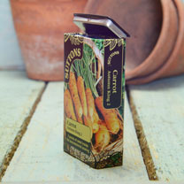 Seed Tin - Carrot Autumn King 2