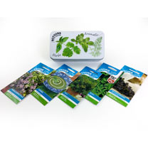Click to view product details and reviews for Seed Tin Collection Herb Garden Single.