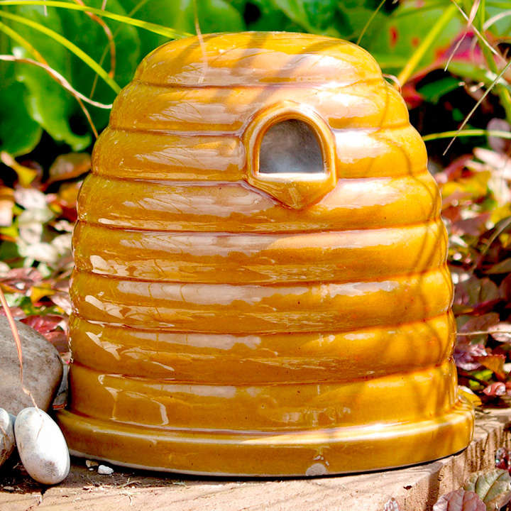 Ceramic Bee Nester