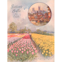 Jigsaw 400 Pieces - Suttons English Bulbs 1928