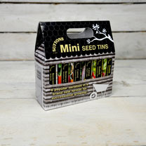 Seed Tins - Root Vegetable Collection