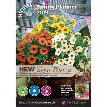Suttons Spring Planner Catalogue