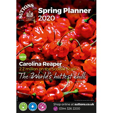 Suttons Spring Planner 2020 Catalogue