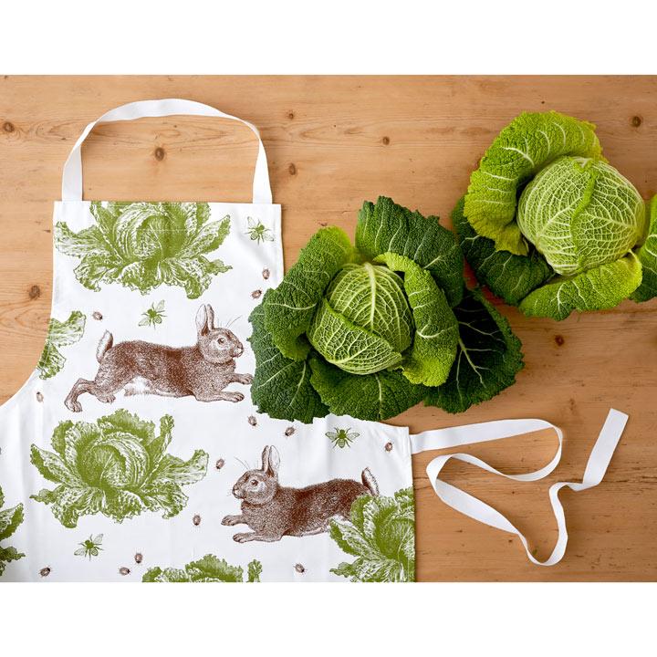 Rabbit & Cabbage Apron