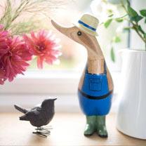 Gardening Ducks - Mr & Mrs