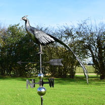 Click to view product details and reviews for 3d Weathervane With Garden Stake Peacock.