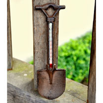Spade Thermometer