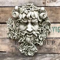 Bacchus Plaque
