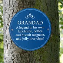 Personalised Heritage Plaque