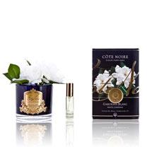 Double Gardenia (Black Vase)