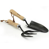 Personalised Hand Fork and Trowel Set