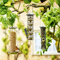 Triple Supreme wild Bird Feeder Pack