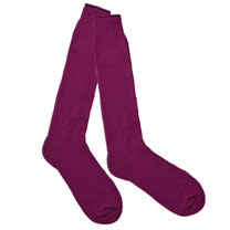 Thermal Wellington Boot Socks - Purple