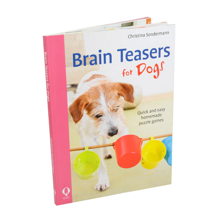 Brain Teasers for Dogs Book