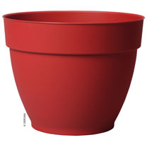 Ninfea Water Reservoir Planter 26cm - Cherry