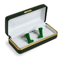 Gardening Cufflinks - Welly Boots
