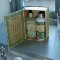 Morris & Co Golden Lily Hand Wash & Lotion Gift Box