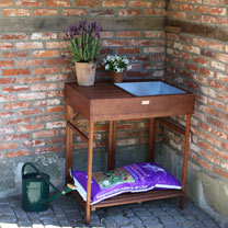 Hardwood Potting Bench