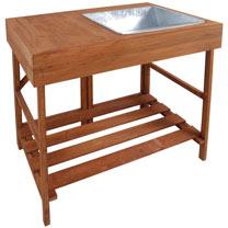 Hardwood Potting Bench