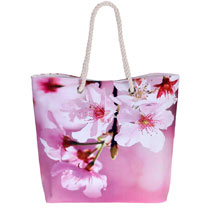 Blossom Beach Bag - Wonderful White