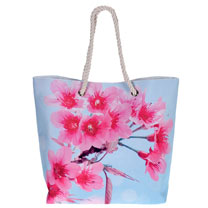 Floral Shopping Bag
