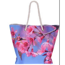 Blossom Beach Bag - Summer Pink